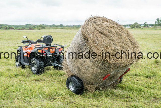 Universal ATV/UTV/Quad/ Buggy/Small Tractor/Side X Side/UTV Tow-Behind Bale Trailer/Hay Roll Trailer Ce, Max Load 500kgs