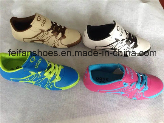OEM Women Soccer Shoes Football Shoes Wholesale (FFSC1110-02)
