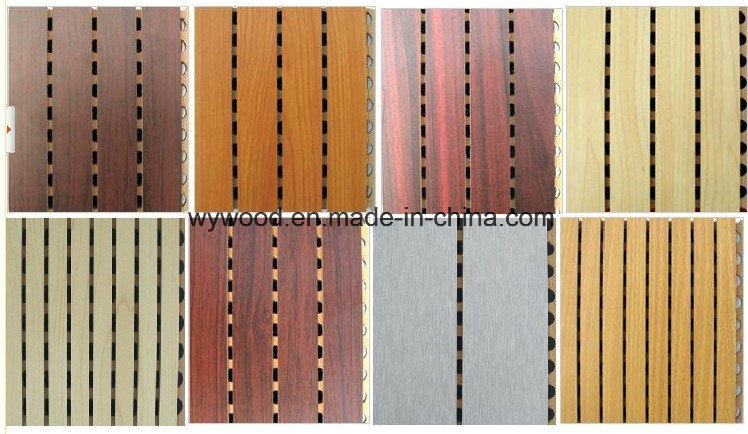 14/2 Grooved Acoustic Panel Veneer Finish