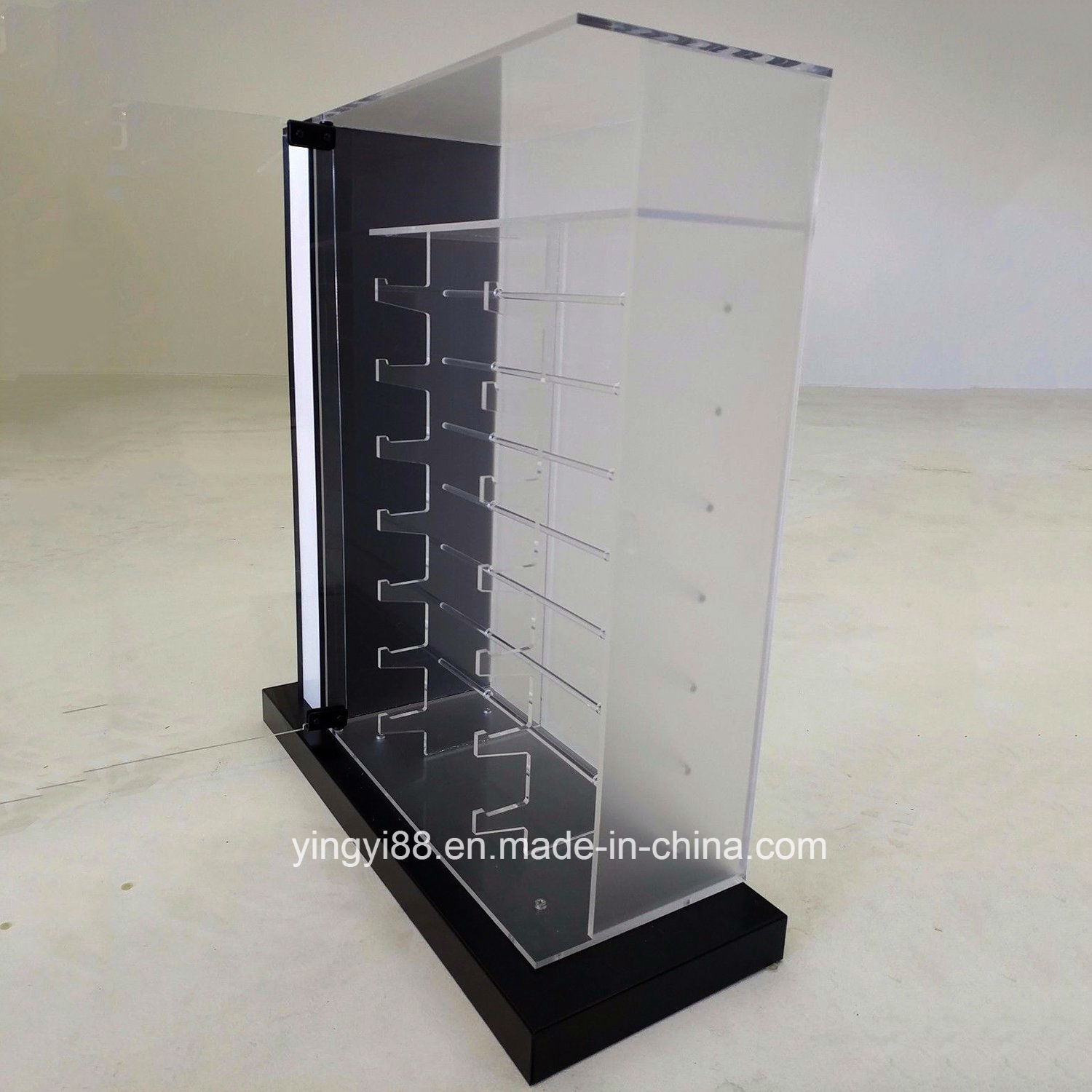 New Sunglasses Countertop Acrylic Display Case with Lock and Key