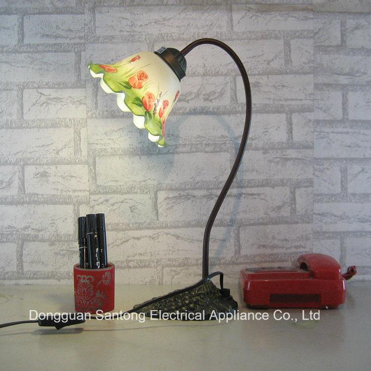 New Tulip Flower Table Lamp Modern Clear Lighting
