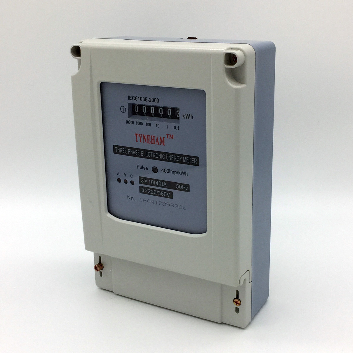 Dts-3r Series Three Phase Electronic Energy Meter