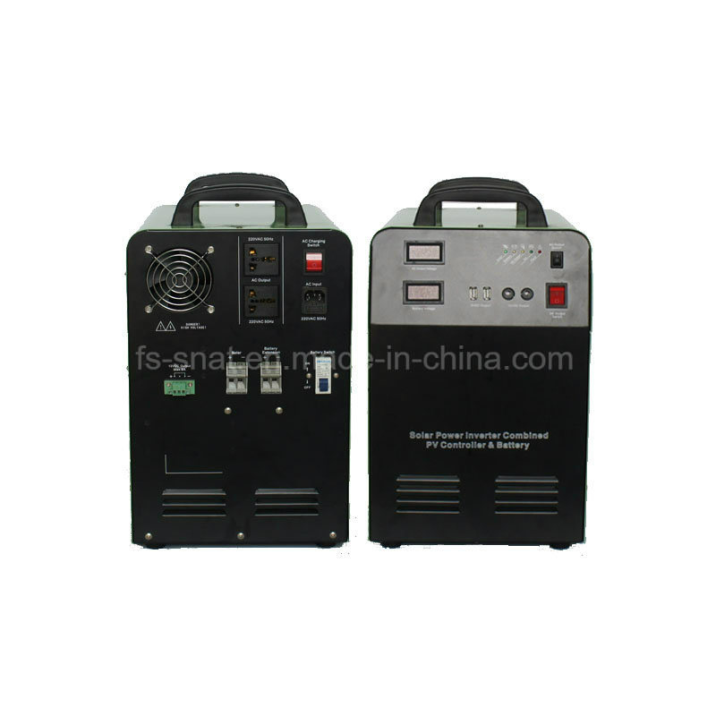 Professional 300W 500W 1000W 1500W Portable Home Solar Power System with Built-in Battery Charger