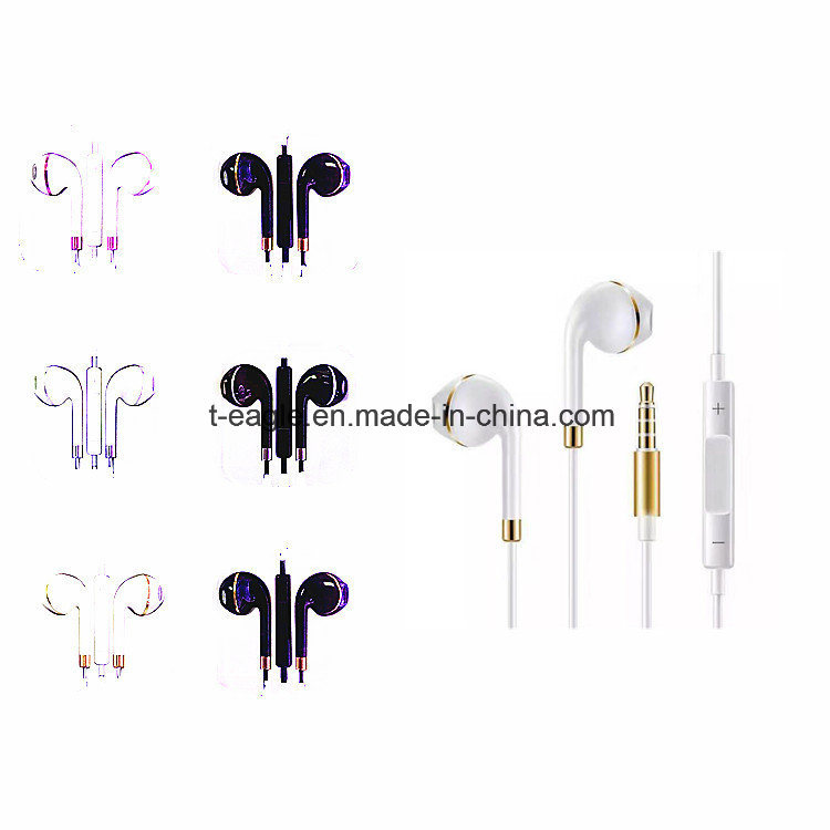Colorful Earbud Parts Mobile Phone Earphone for iPhone Andirod
