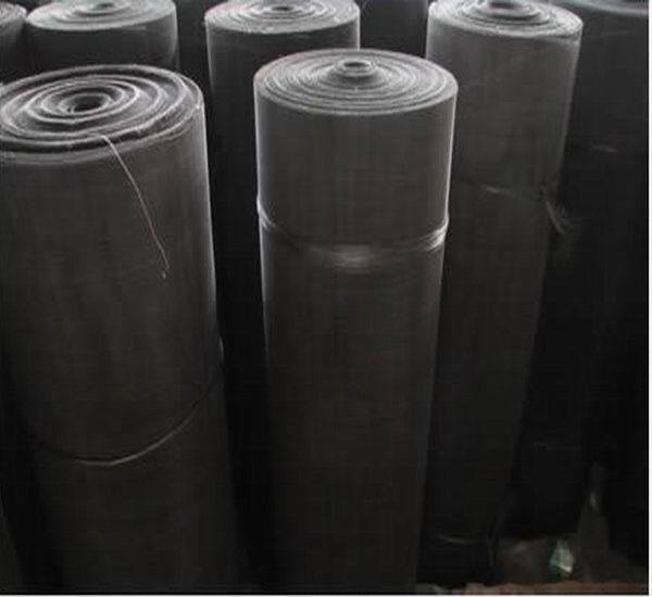 Black Rubber Screen Mesh / High Quality Black Wire Cloth