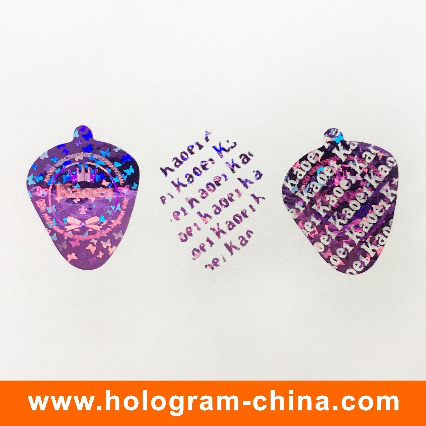 Custom 2D DOT Matrix 3D Laser Hologram Sticker