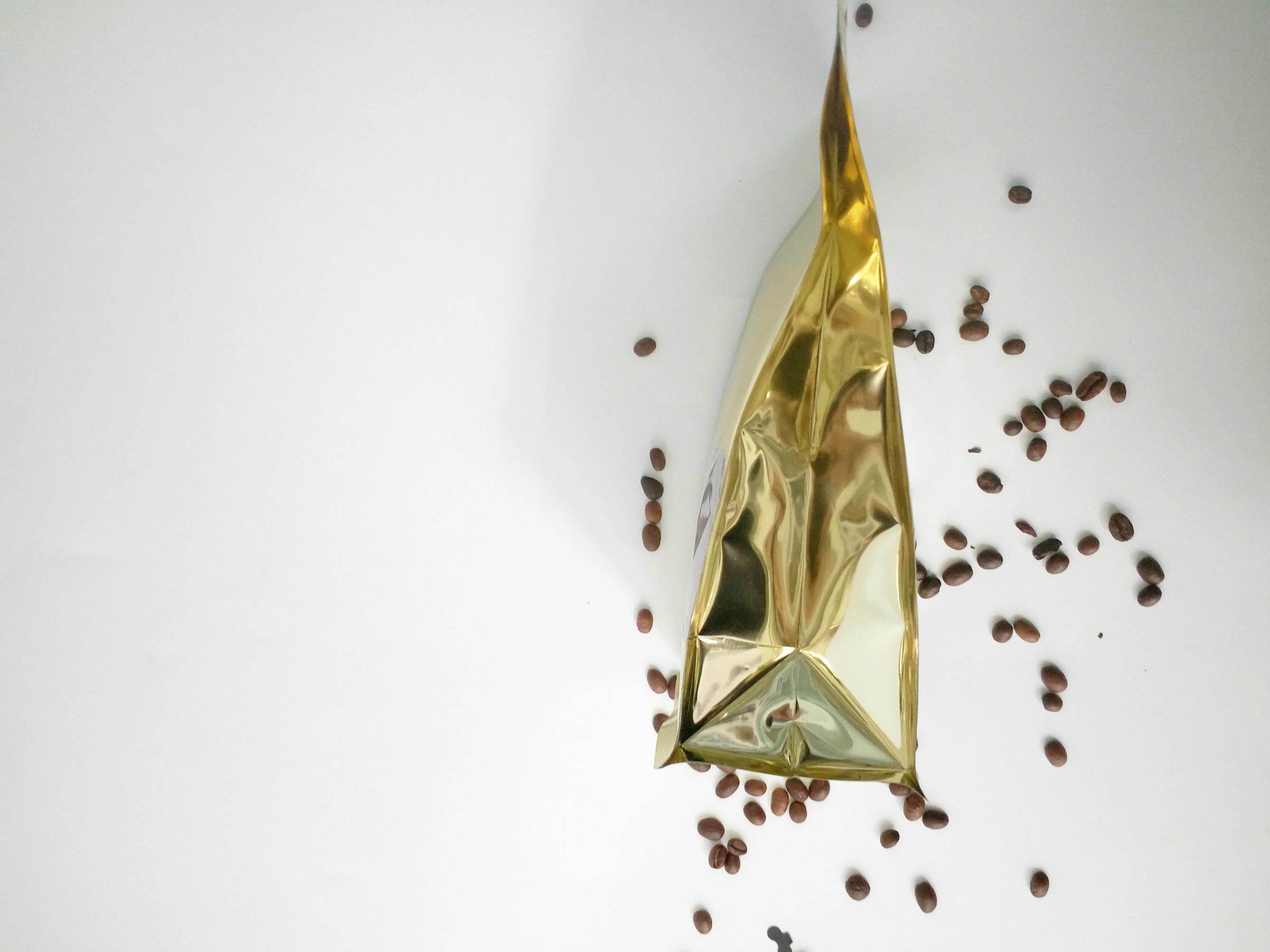 Coffee Bag with Zipper/Plastic Coffee Bag/Paper Coffee Pouch