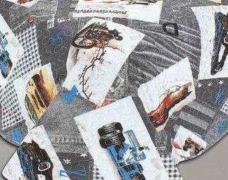 Printed Quilt Pigment Printing Children Bedding Set