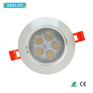 High Quality 5W Epistar Spot Light Dimmable Natural Whit LED Ceiling Light