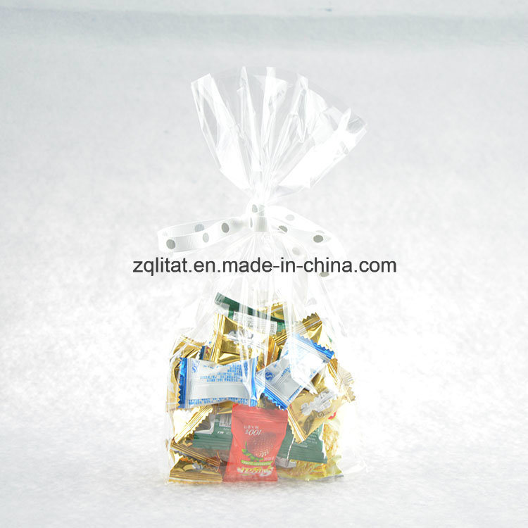Transparent Plastic Flat Bottom BOPP Gift Packaging Bag/ Cello Bag