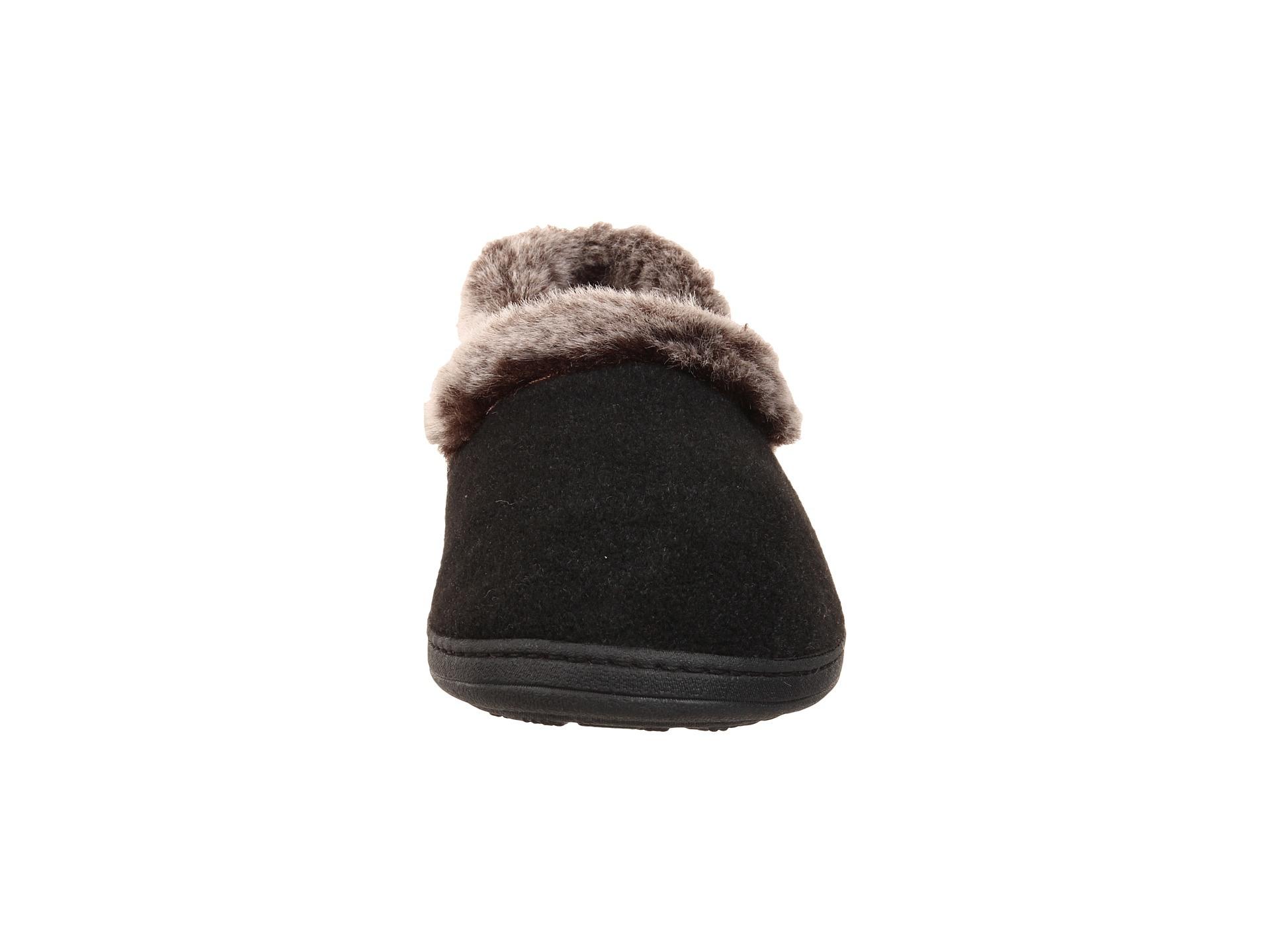 Top Round Fur Warm Memory Foam Slipper
