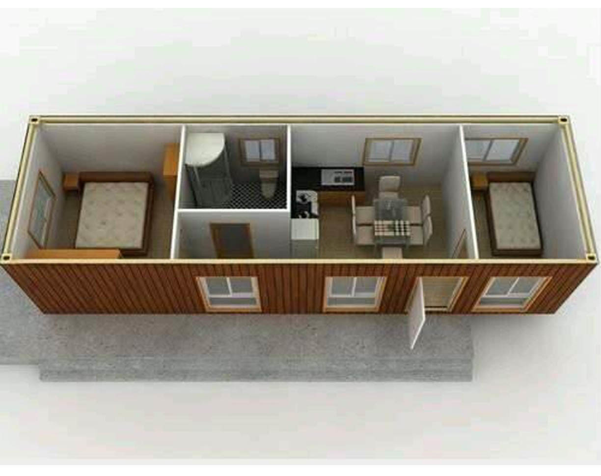 China Flat Pack Container Home Plans Designs Photos
