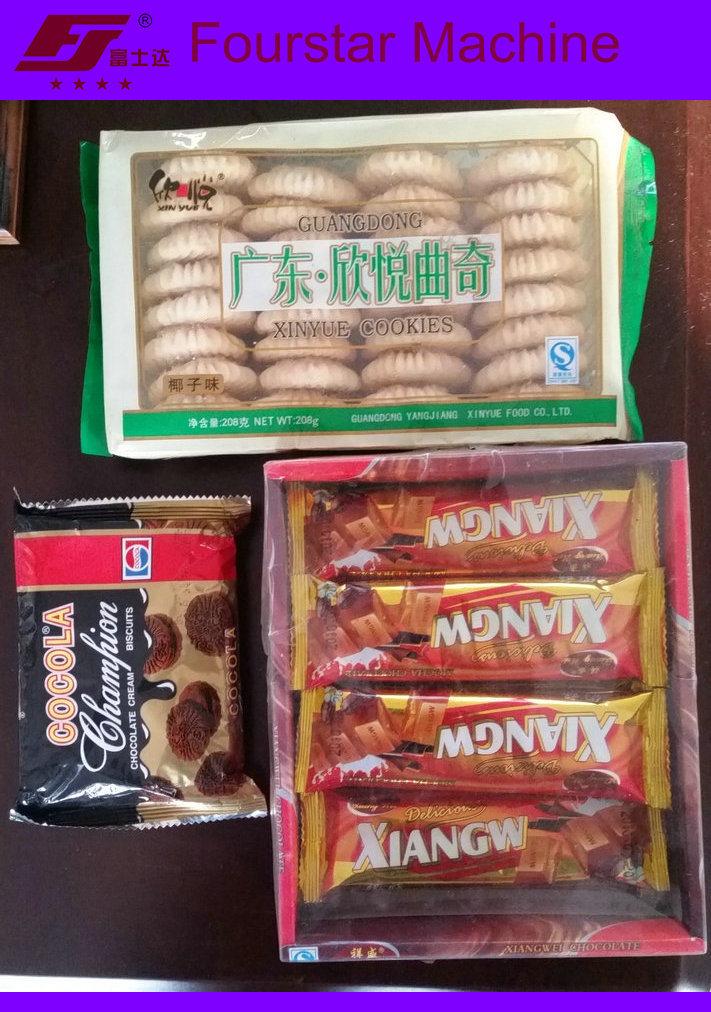 Biscuit Cake Bread Packaging Machine