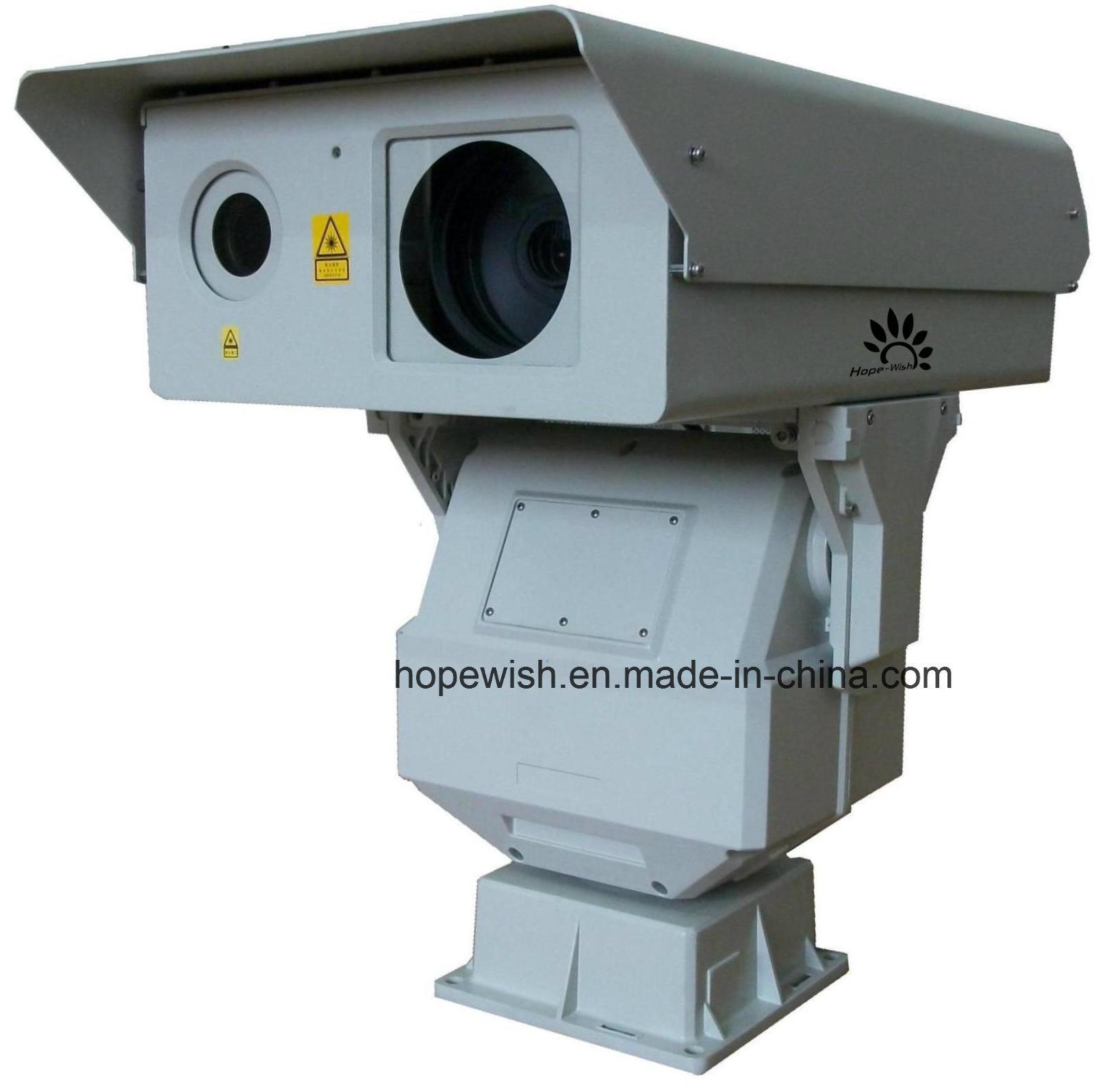 Long Range PTZ IR Laser Night Vision Camera 2km IP