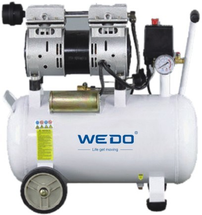50L Tank Oilless (oil -free) Air Compressor 1.1kw