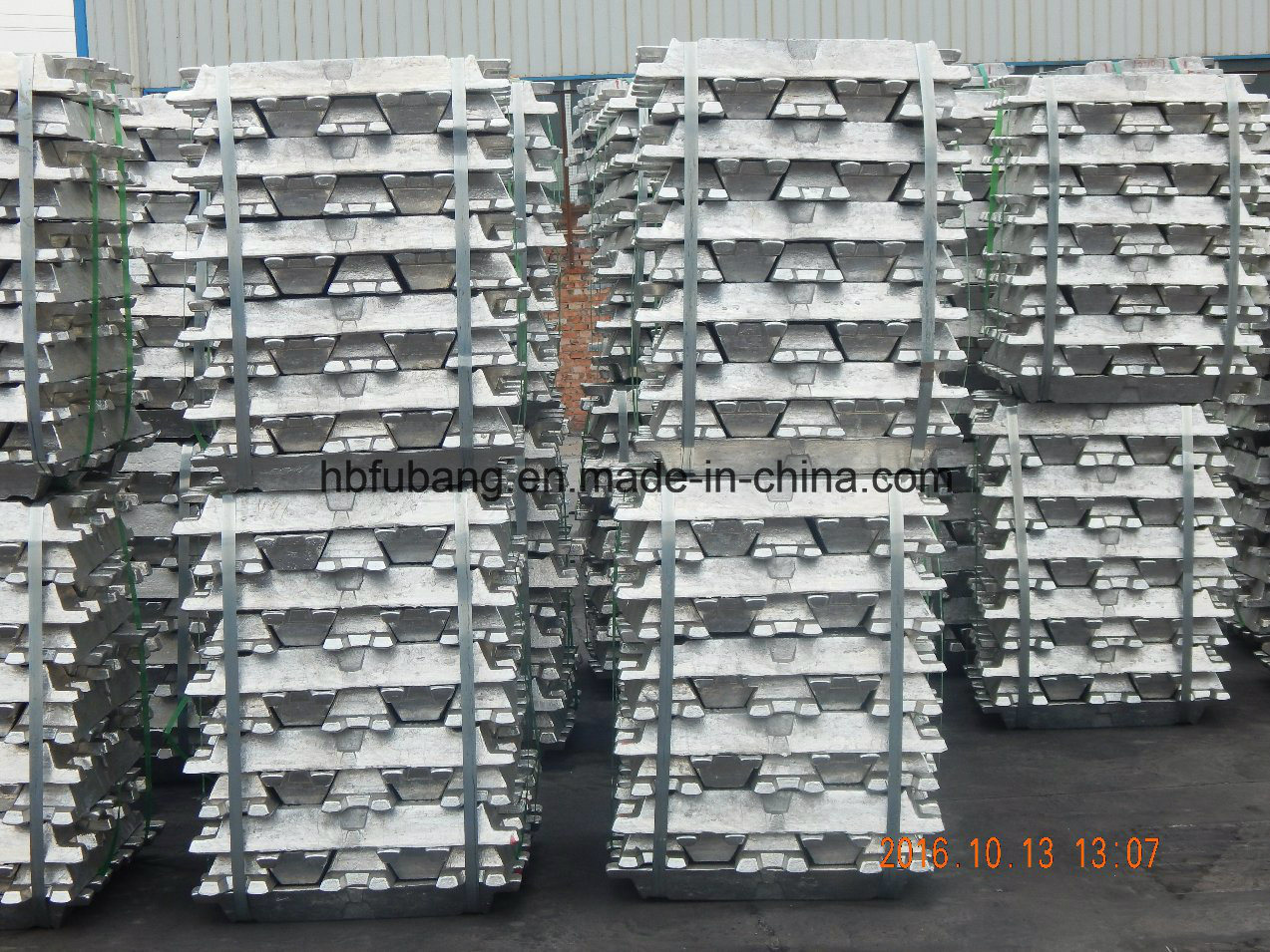 2017 Hot Sale Aluminum Ingot 99.9% From Chinese Factory with Top Quality