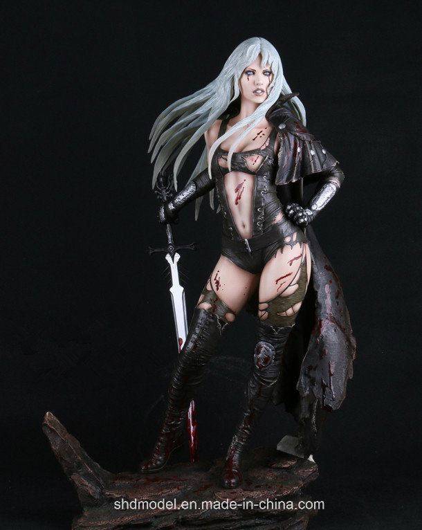 Resin Action Figure with Base (OEM)