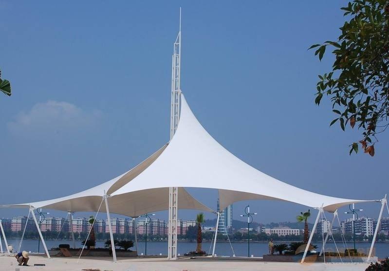 China Ptfe Fiberglass Membrane Structure Tent Zbmc