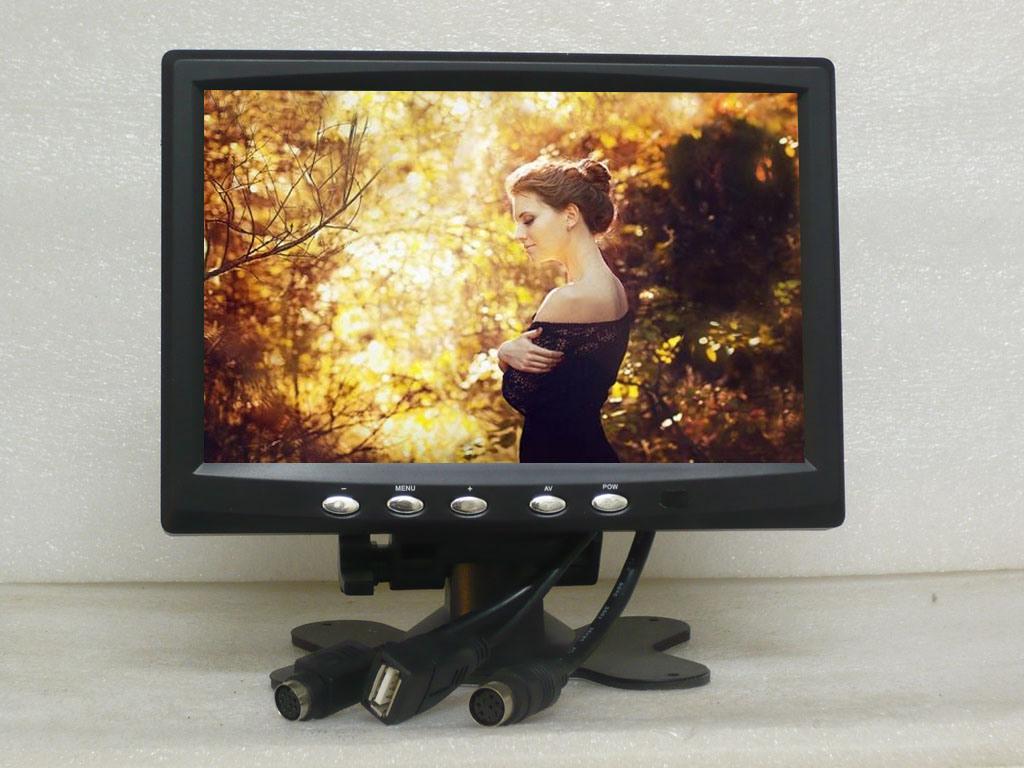 """7"""" HDMI Car LCD Monitor"""