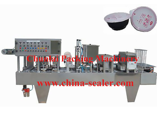 Bowl Filling and Sealing Machine (BG60A-4C)