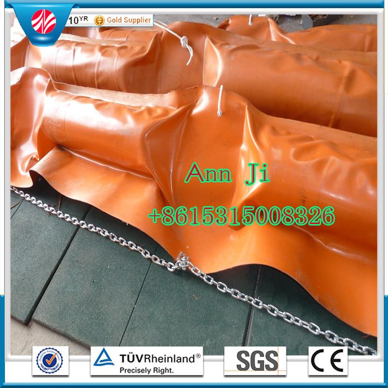 Inflate PVC Oil Boom, Solid Foam Oil Boom, Oil Seaweed Fence