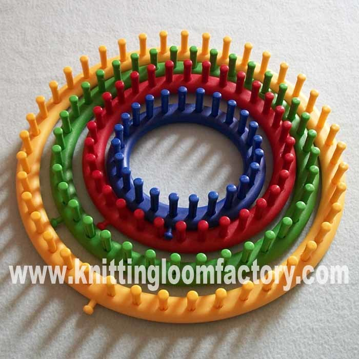 Snood Knitting Patterns : Weaving On a Round Loom - Bing images