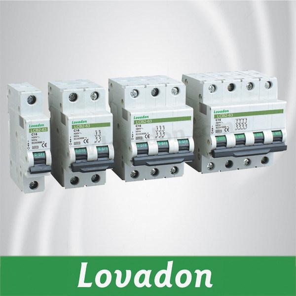 C63 Lcb2-63 Series Miniature Circuit Breaker