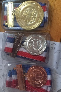 Gold Silver Medals