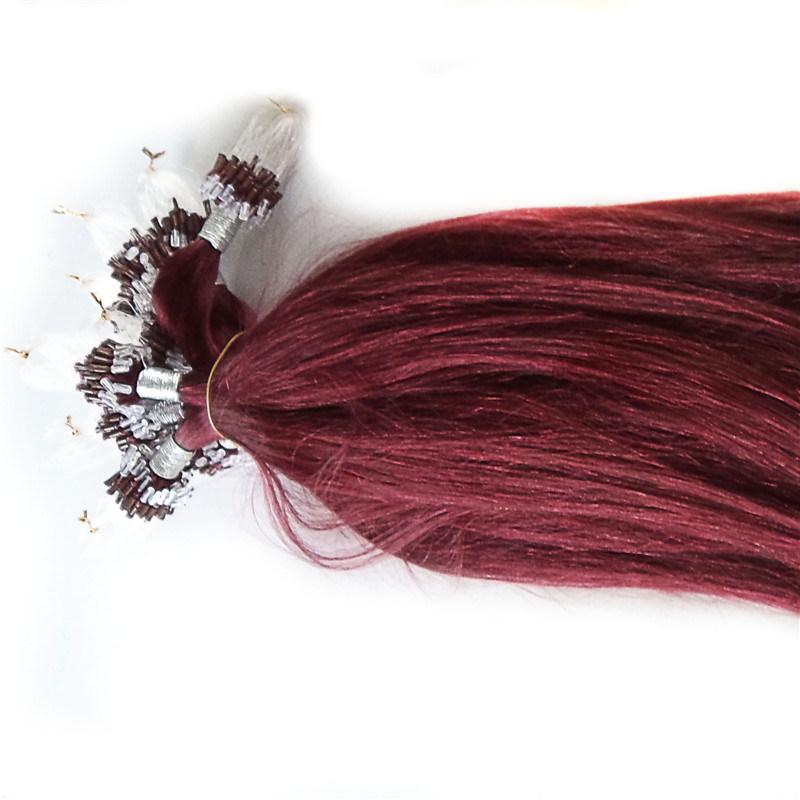 Factory Price Pre-Bonded Hair Extension Loop Micro Ring Hair