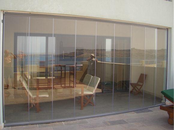 China Ce Certificate Interior Tempered Glass Frameless Automatic Sliding Glass Doors Photos