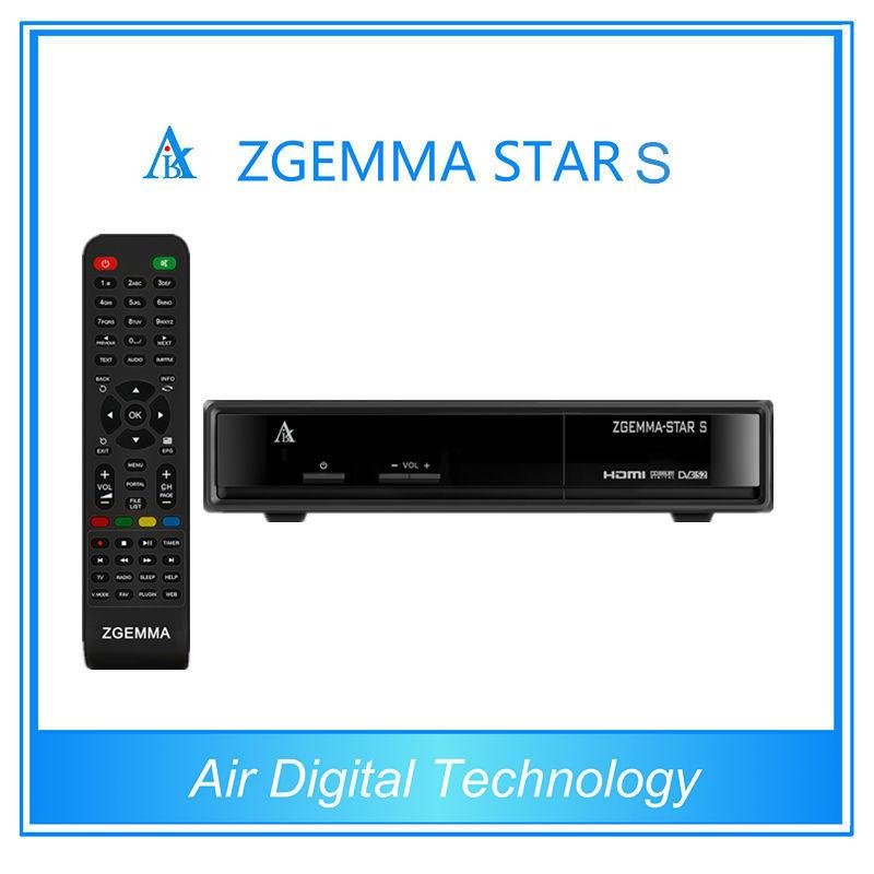 HD Satellite Receiver DVB S2 Zgemma-Star S Satellite Receiver Media Player