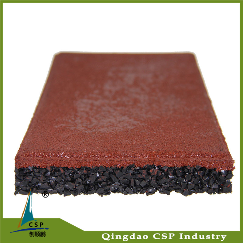 Shockproof Safety Indoor Rubber Tile for Gym