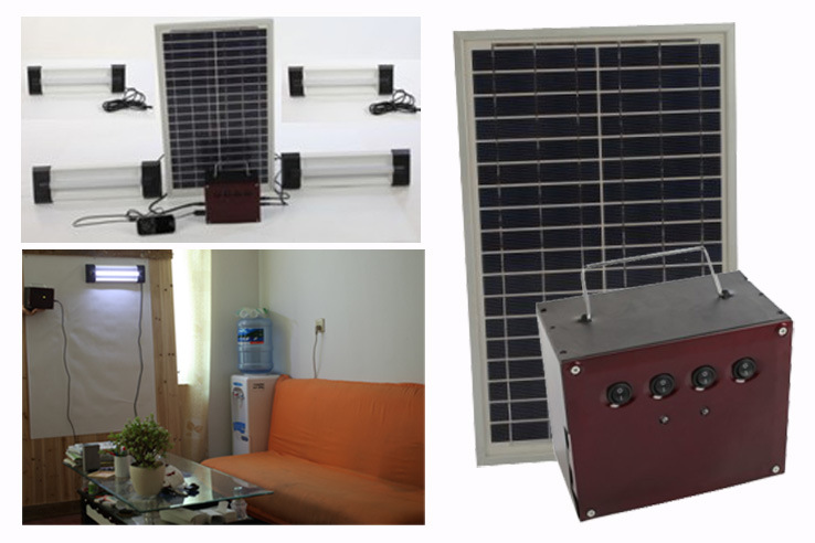 Solar Home Light (4PCS light system)