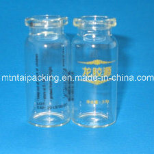 10ml Tubular Vial Screen Printing