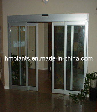 Ca-300d Telescopic 3-Winged Sliding Doors
