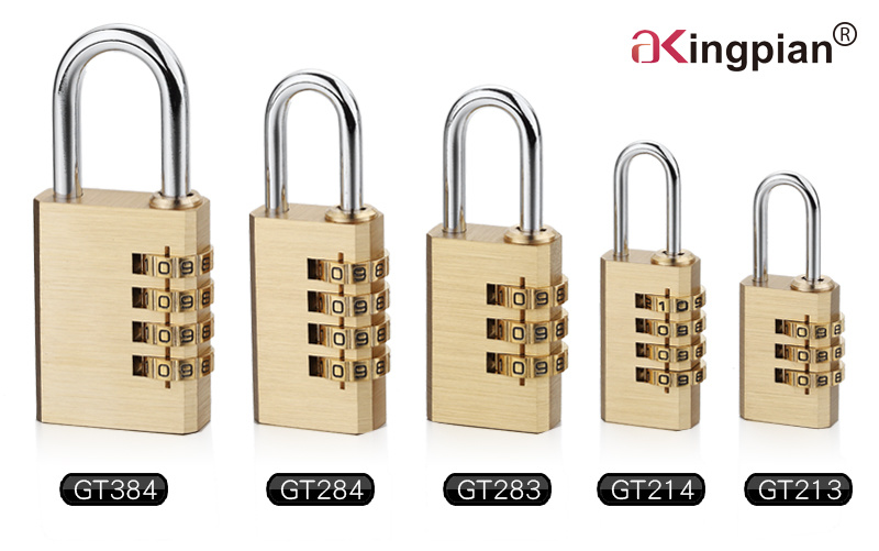 4 Digit Brass Combination Lock and Code Lock 40mm