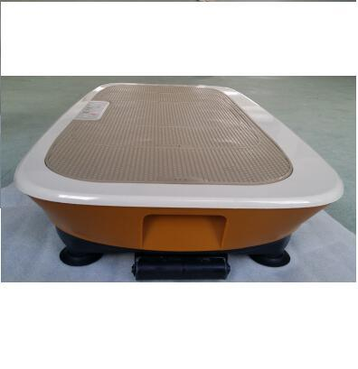 2015 Zhengqi New 3D Two Motors Ultrathin Vibration Plate with Resistant Band and Remote Control