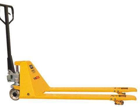 High Quality AC Pump Hand Pallet Truck with Long Fork