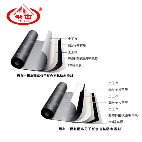 High Polymer Self Adhesive Waterproof Membrane
