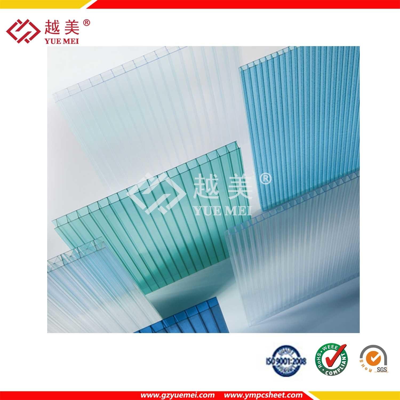 Ten Years Warranty Twin Wall Polycarbonate Sheet