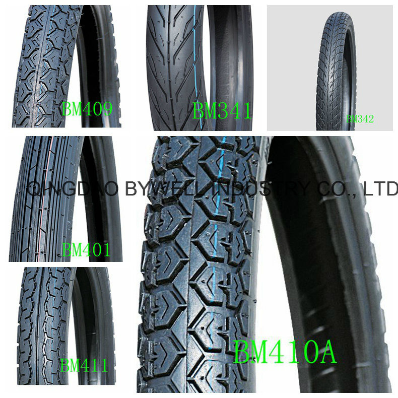 Brilliant Motorcycle Tires and Tubes with Various Patterns and Best Price (TL type)