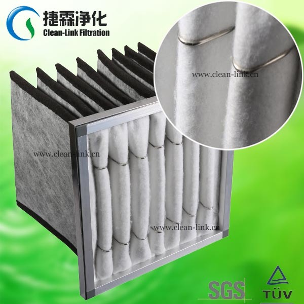 Guangzhou Factory Price Activated Carbon Bag Filter