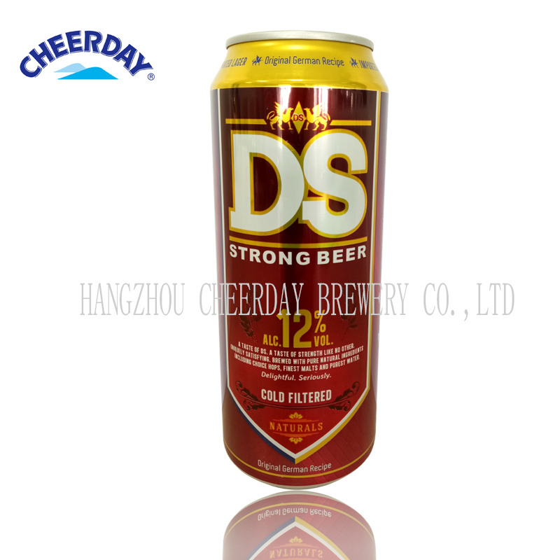 Alc. 12%Vol 500ml Strong Beer in Canned
