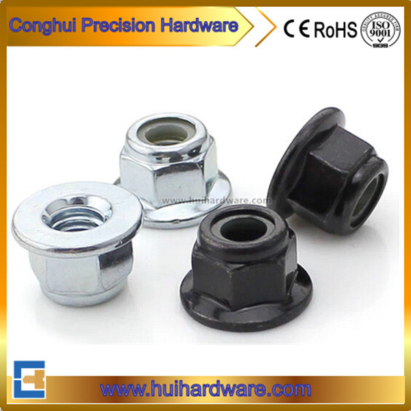 Nylon Insert Hex Flange Lock Nut Flange Nylon Lock Hex Nylon Lock Nut