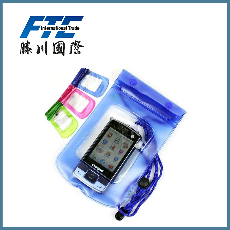 High Quality PVC Waterproof Bag for Mobile Phone