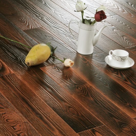 Ash Solid Wood Flooring (YN-0302)