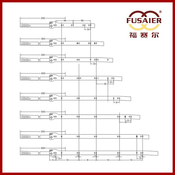 Fgv Type High Quality Drawer Slide