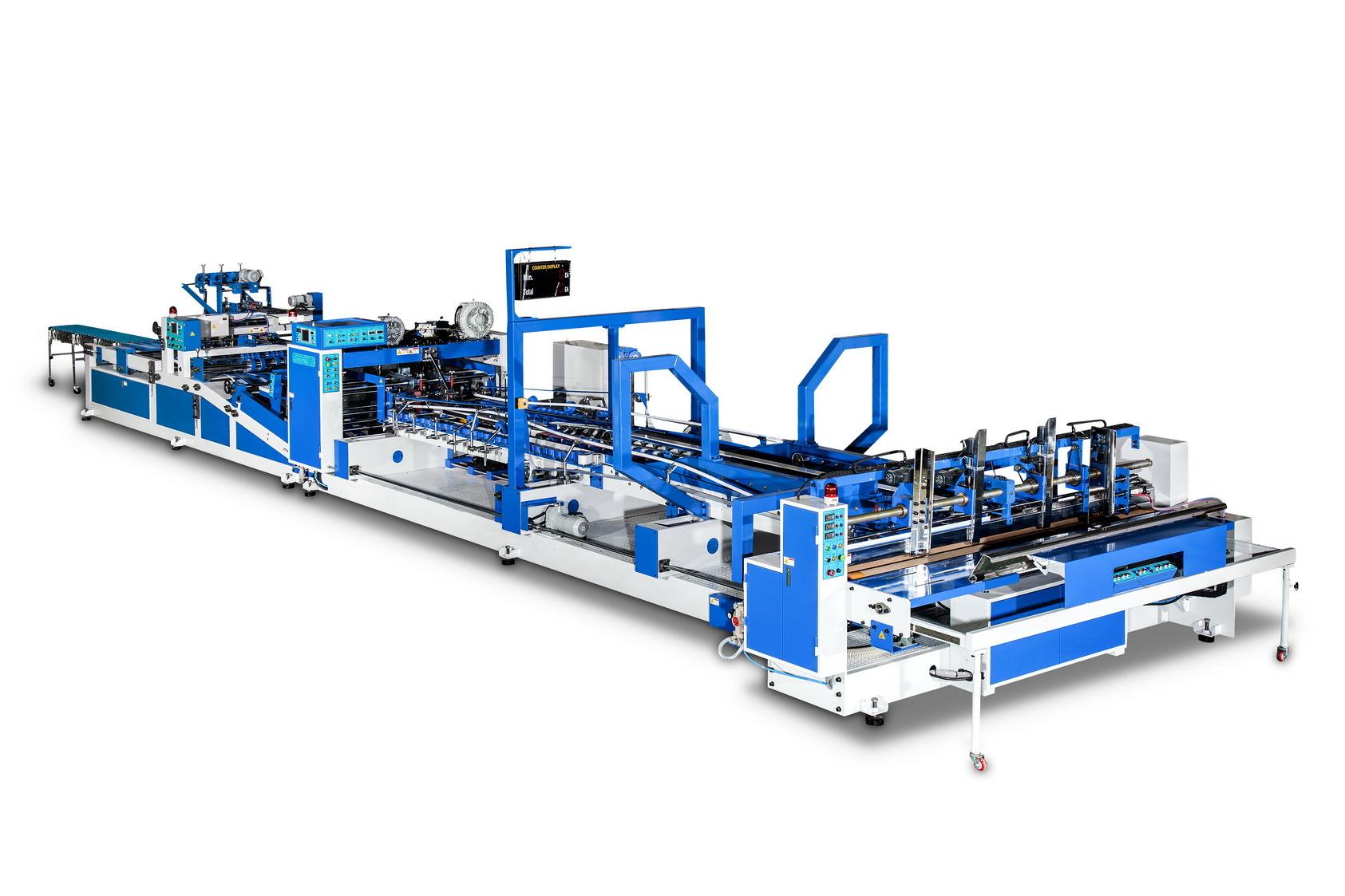 Automatic Folder Gluer Stitcher Machine