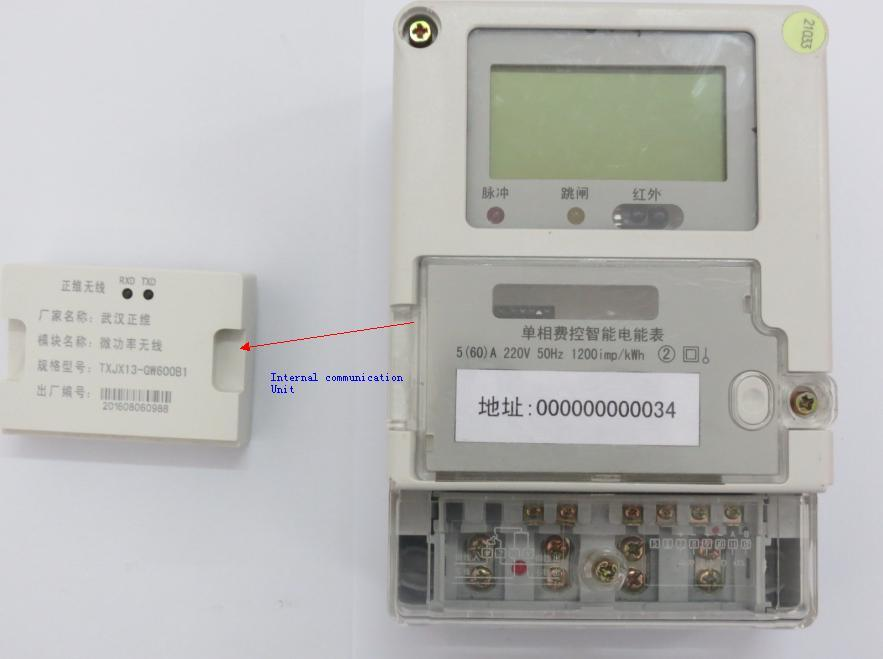 Low Cost Energy Meter Data Concentrator Down Link Module for Dlms Ami AMR System