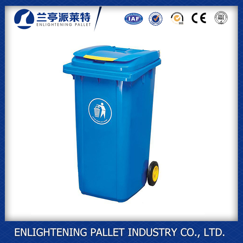 Hospital Medical Street Garden Recycle Plastic Waste Bin Container Price with Wheels